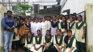 Vikash College students